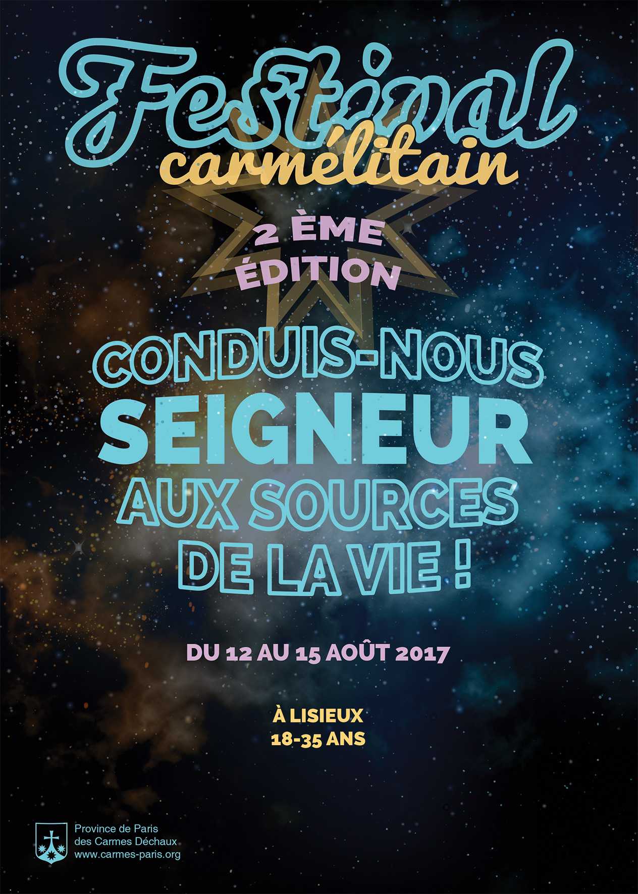Flyer A6 Festival Carmelitain 2017 recto web